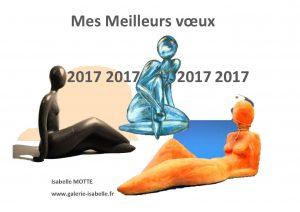 Isabelle MOTTE Mes Voeux 2017